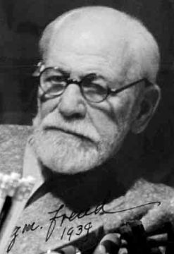 primo piano di Freud